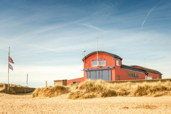 Stephen Mole | Caister Lifeboat shed