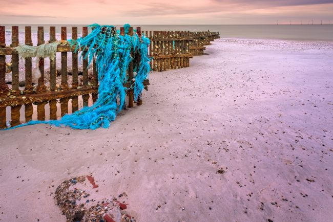 Stephen Mole | Fishing net at Caister