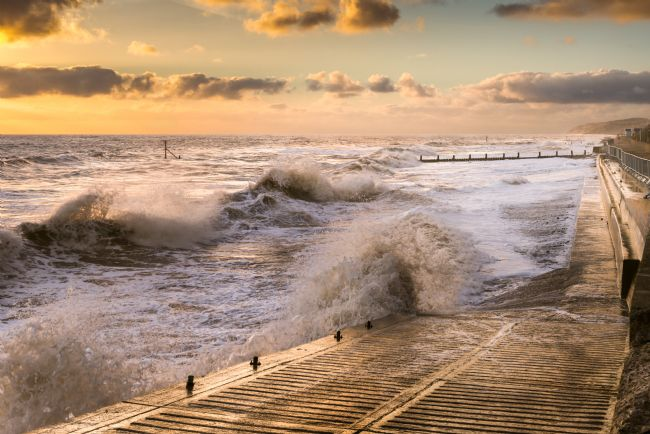 Stephen Mole | Sunrise Slipway at Overstrand