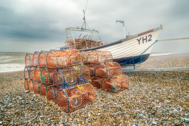 Stephen Mole | Fishing Boat at Weybourne