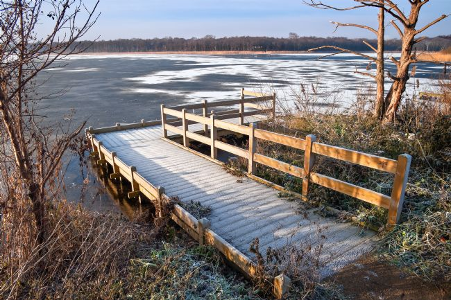 Stephen Mole | Icey at Ormesby Broad