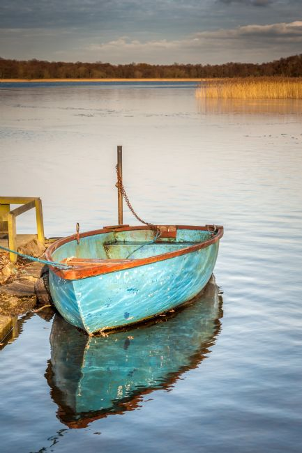 Stephen Mole | Lone boat at Filby
