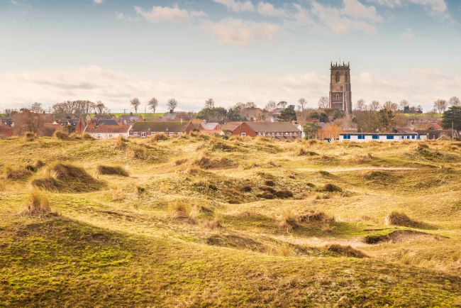 Stephen Mole | Winterton Church across the dunes