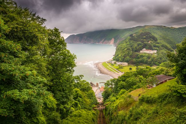 Stephen Mole | Overlooking Lynmouth
