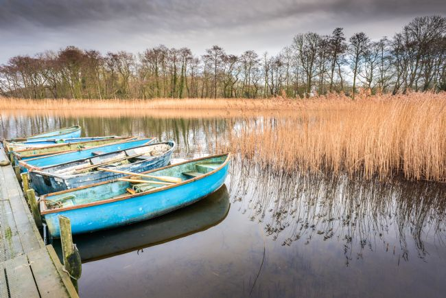 Stephen Mole | Moored at Filby Broad