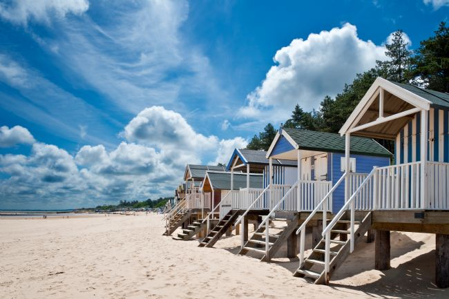 Stephen Mole | Beach huts at Wells