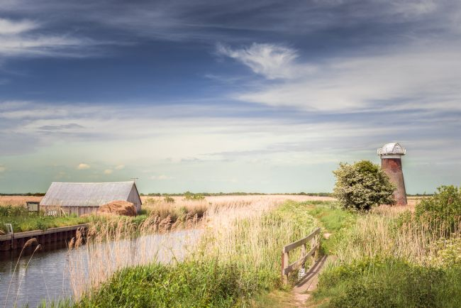 Stephen Mole | Mill at West Somerton