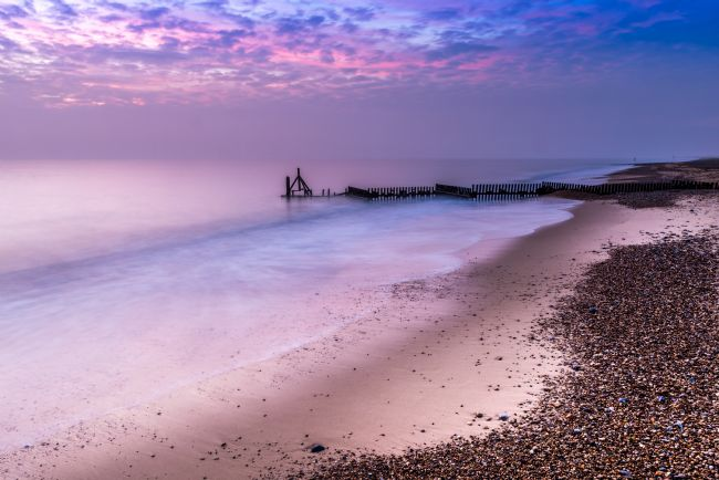 Stephen Mole | Purple Dawn over Caister Beach