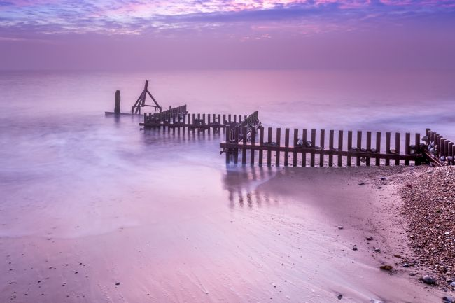 Stephen Mole | Dawn at Caister Beach