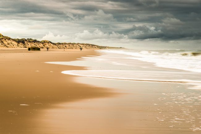 Stephen Mole | Storm clouds over Hemsby Beach