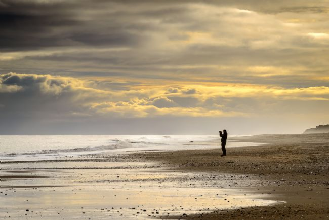 Stephen Mole | Photographer on Hemsby Beach