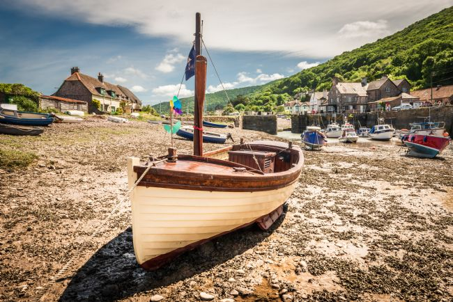 Stephen Mole | Fishing boat at Porlock Weir