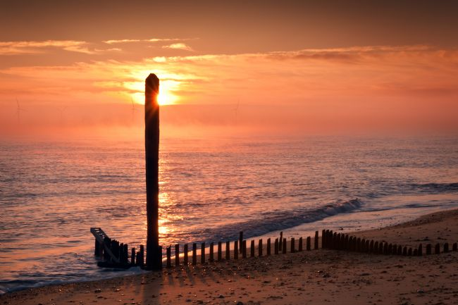 Stephen Mole | Sunrise at Caister