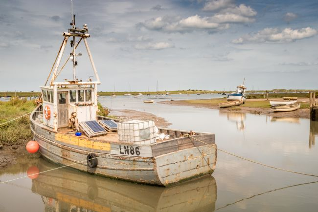 Stephen Mole | LN86 moored at Brancaster Staithe