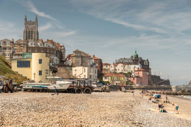 Stephen Mole | Cromer beach and Church