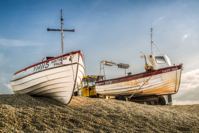 Stephen Mole | Fishing Boats at Weybourne