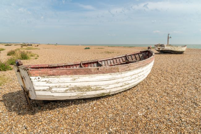 Stephen Mole | Old Boat on Aldeburgh Beach