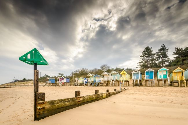 Stephen Mole | Storm clouds at Wells Beach