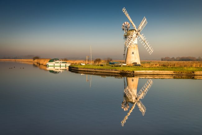 Stephen Mole | Golden sunny Thurne Mill