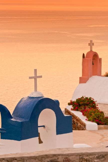 Stephen Mole | Sunset in Santorini