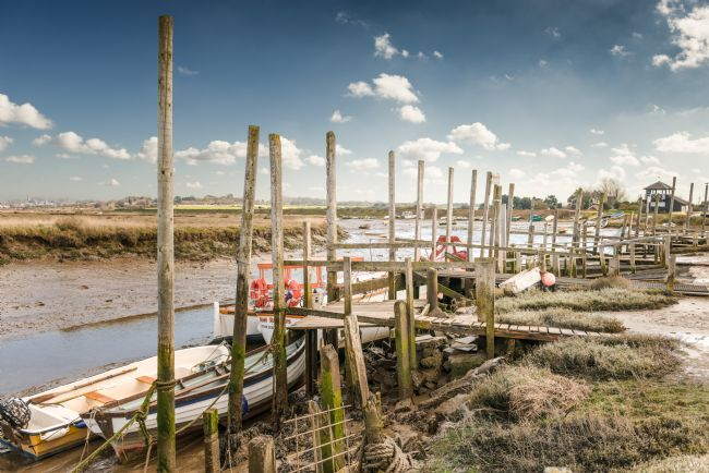Stephen Mole | Moored at Morston Quay