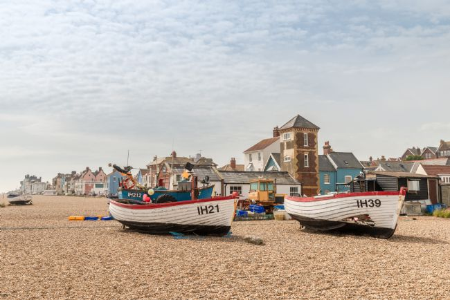 Stephen Mole | Fishing Boats at Aldburgh