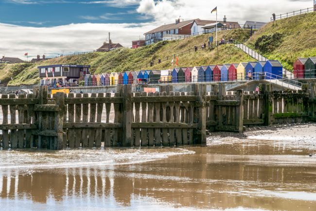 Stephen Mole | Beach Huts at Mundesley