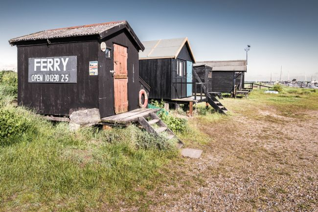 Stephen Mole | Fishermans Sheds at Walberswick