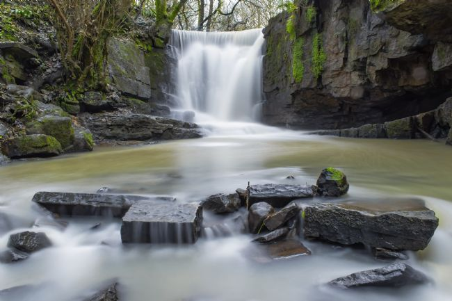 John Thirkell | The Plunge, Dearden Clough Waterfall, Edenfield, Ramsbottom,Bury,Lancashire.