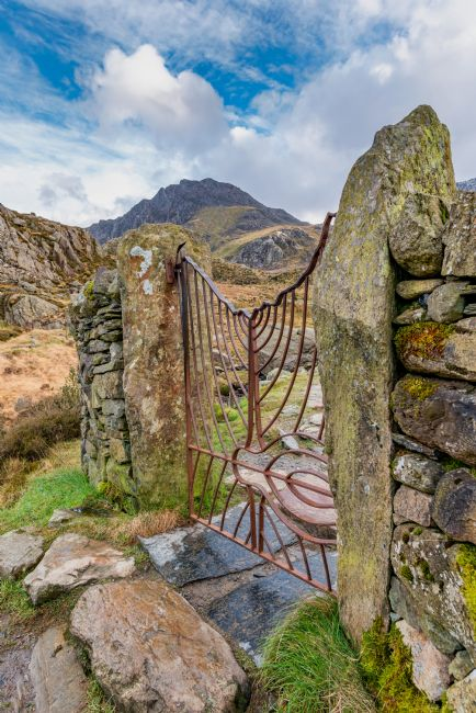 adrian evans | Gate To Tryfan Snowdonia