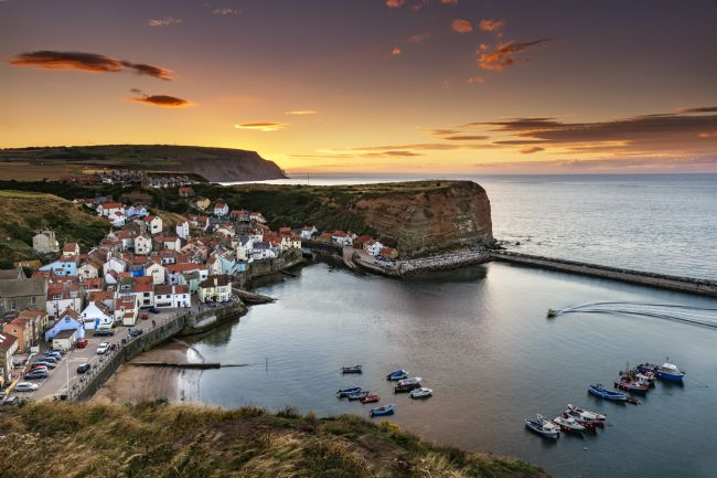 Richard Burdon | Staithes Sunset From Penny Nab