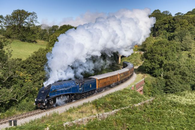 Richard Burdon | Sir Nigel Gresley at Darnholme