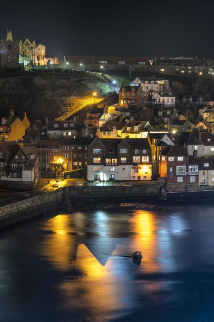 Richard Burdon | Whitby Harbour Reflections