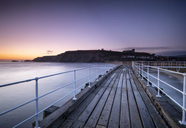 Richard Burdon | Whitby East Pier Sunrise