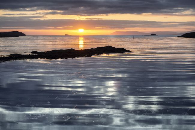 Richard Burdon | Lochmaddy Sunrise