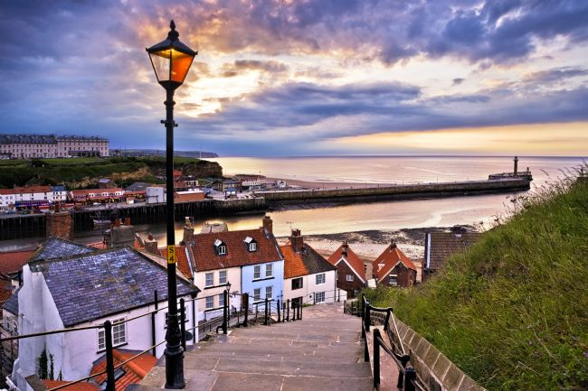 Richard Burdon | Whitby From The Steps