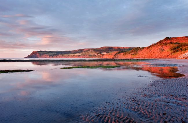 Richard Burdon | Sunrise at Robin Hood's Bay