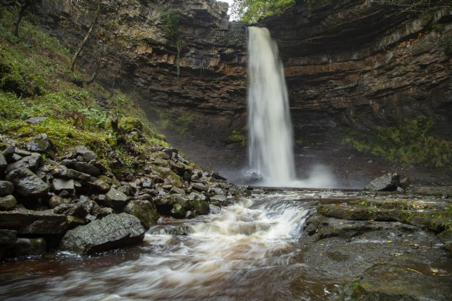 Len Pugh | Hardraw Force Waterfall, Yorkshire