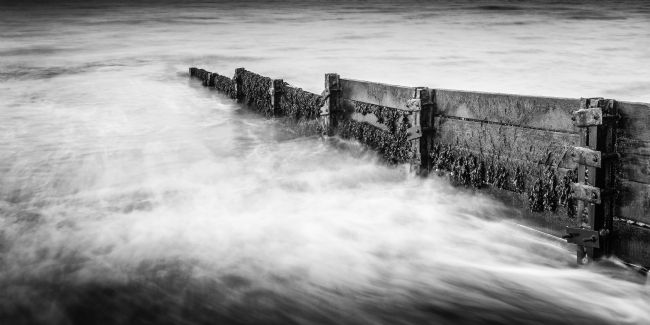 Heidi Stewart | A Groyne down on Criccieth Beach