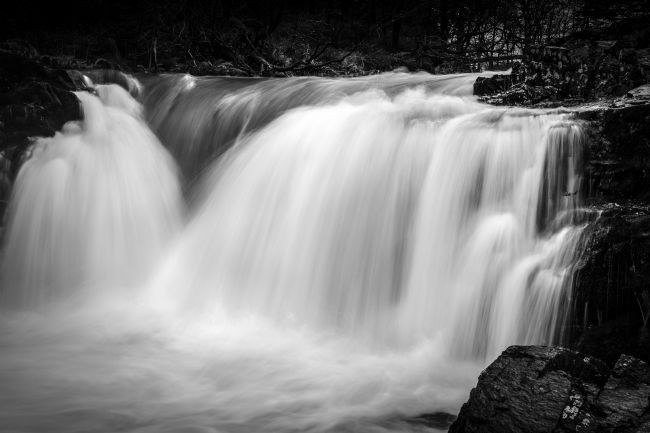 Heidi Stewart | Skelwith Force Falls in the Lake District