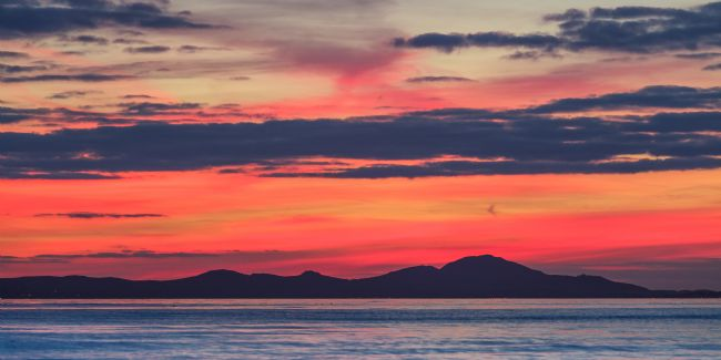 Heidi Stewart | Sunset Over The Llyn Peninsula, north Wales