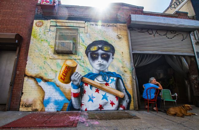 Michael Richardson | Bushwick Grafitti