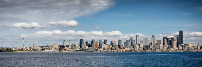 Roy Scrivener | Seattle City Skyline