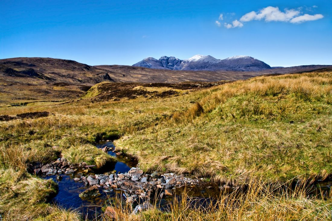 Jacqi Elmslie | An Teallach Mountain Stream