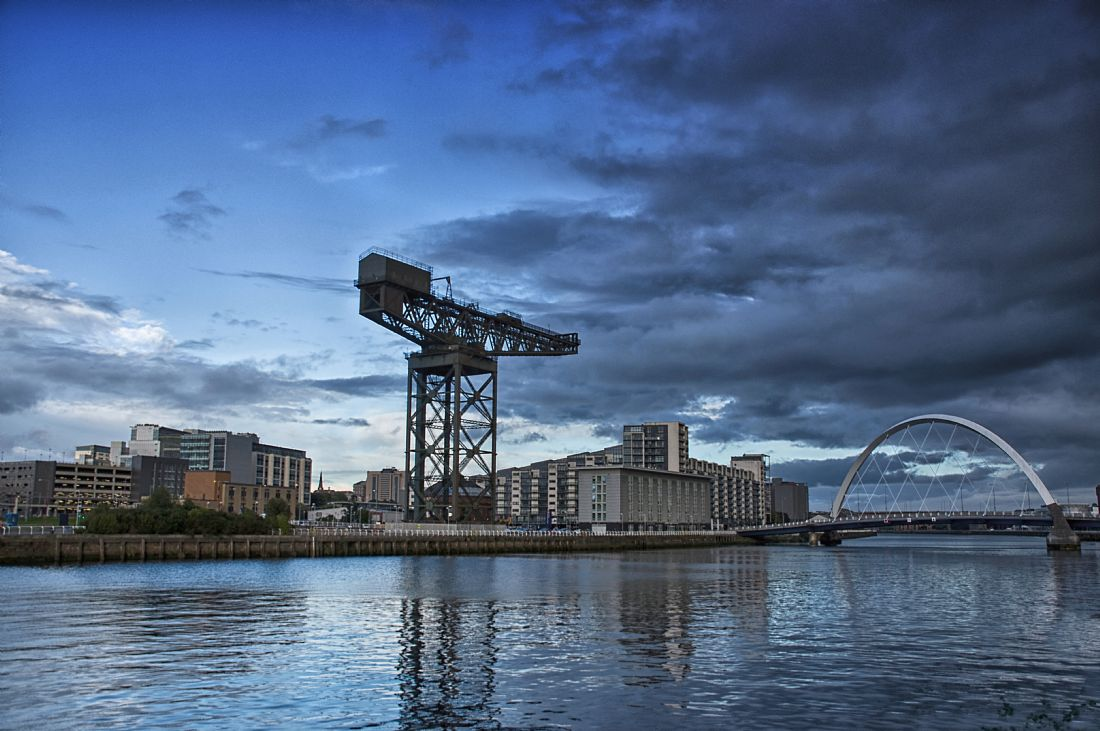 Jacqi Elmslie | The Finnieston Crane and the Squinty Bridge