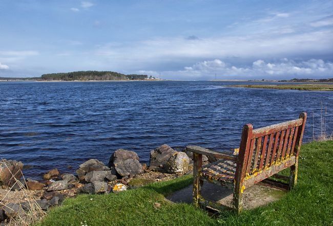 Jacqueline Elmslie | Seat by Loch Fleet, Moray Firth