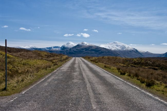 Jacqueline Elmslie | On the Road to An Teallach
