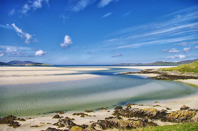 Jacqueline Elmslie | Beach at Luskentyre - Isle of Harris