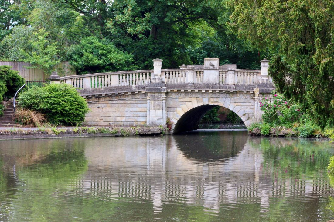 Susan Snow | Bridge at Pittville Park Cheltenham