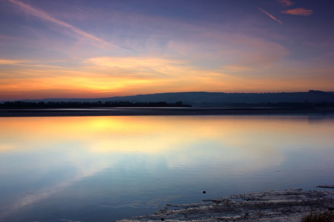 Susan Snow | Sunset over the River Severn